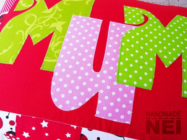 """Пачуърк калъфка за възглавница """"Мими"""" - Handmade Nel"""