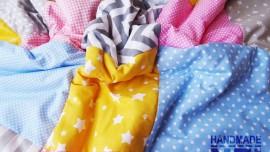 """Пачуърк одеяло с полар за бебе """"Марина"""""""