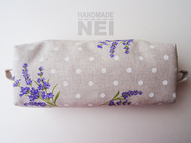 """Голям несесер за етерични масла """"Лавандула"""" - Handmade Nel"""