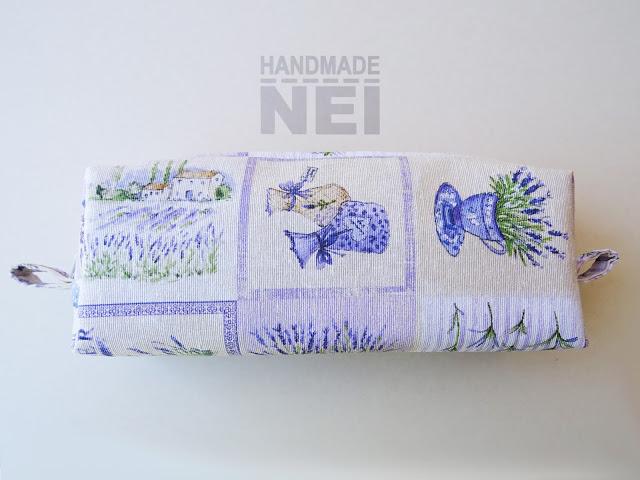 """Голям несесер за етерични масла """"Лавандулки"""" - Handmade Nel"""