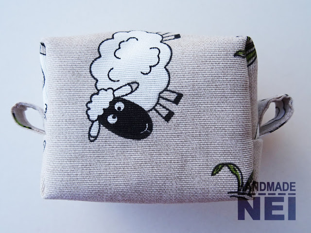 "Малък несесер за етерични масла ""Овце"" - Handmade Nel"