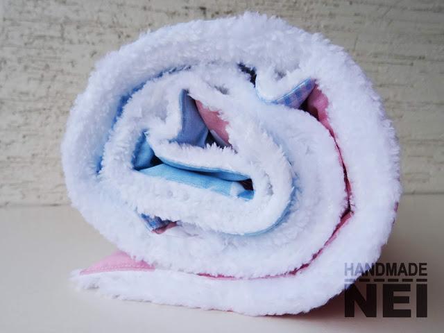 """Пачуърк одеяло с полар за бебе """"Мила"""" - Handmade Nel"""