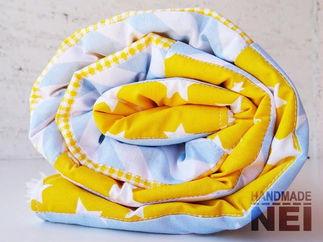 """Пачуърк одеяло с полар за бебе """"Анастас"""" - Handmade Nel"""