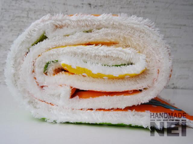 "Пачуърк одеяло с полар за бебе ""Дамян"" - Handmade Nel"