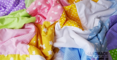 """Пачуърк одеяло с полар за бебе """"Антония"""""""