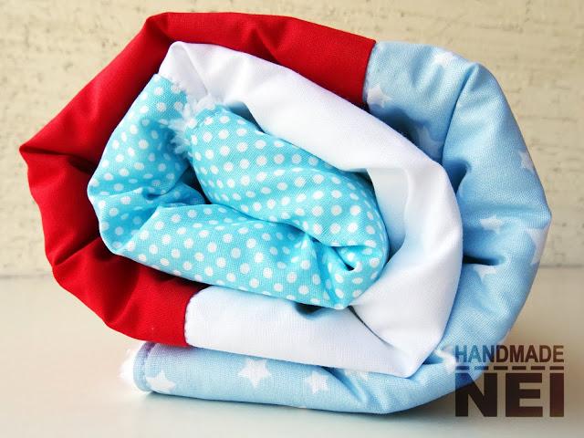 """Пачуърк одеяло с полар за бебе """"Стефан"""" - Handmade Nel"""
