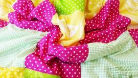 """Пачуърк одеяло с полар за бебе """"Деа"""""""