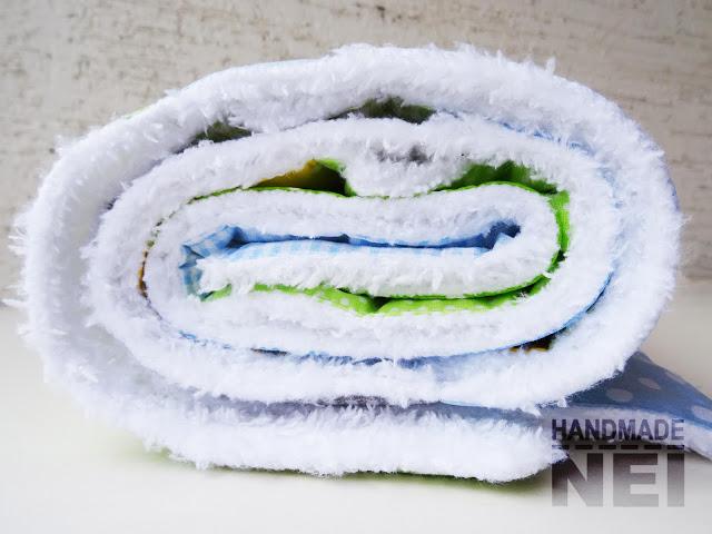 """Пачуърк одеяло с полар за бебе """"Йоан"""" - Handmade Nel"""