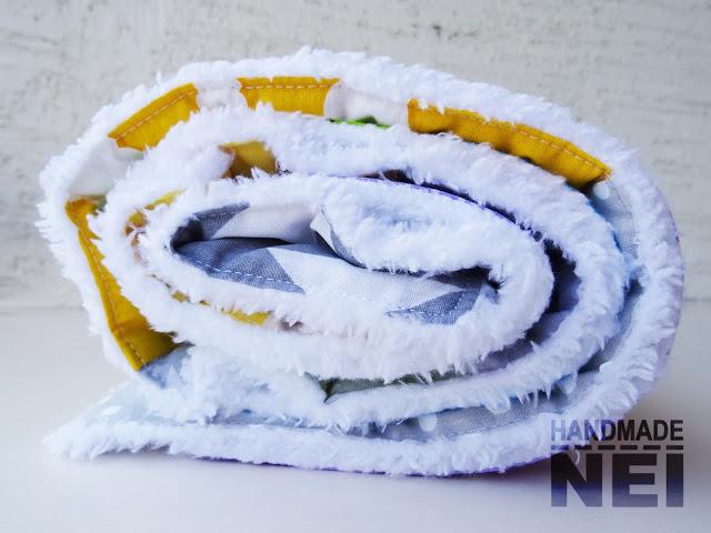 """Пачуърк одеяло с полар за бебе """"Кокер"""" - Handmade Nel"""