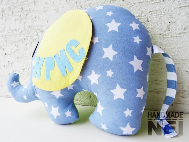 """Играчка слонче """"Крис"""" - Handmade Nel"""
