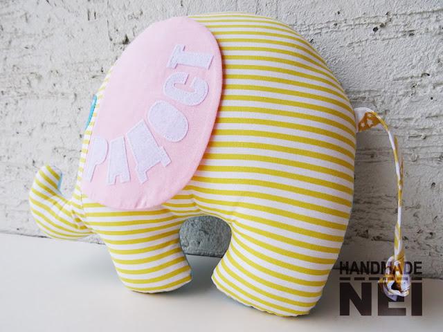 """Играчка слонче """"Радост"""" - Handmade Nel"""