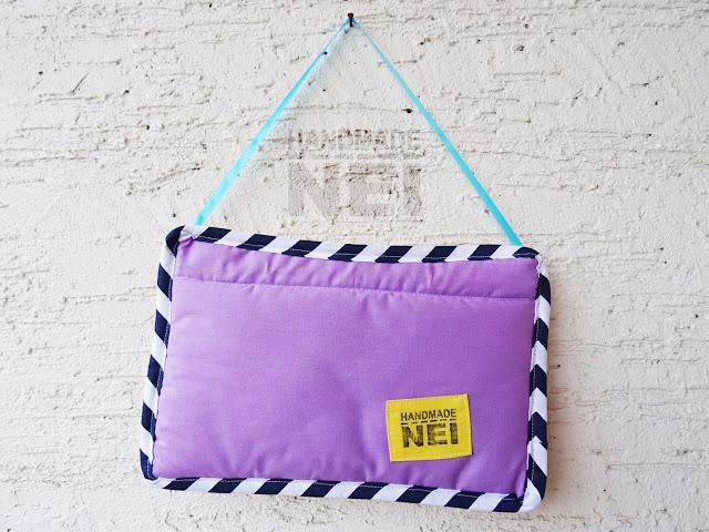 """Табелка за име от плат """"Филип""""2 - Handmade Nel"""