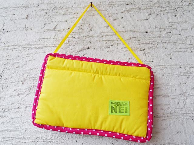 """Табелка за име от плат """"Миа"""" - Handmade Nel"""