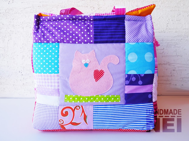 """Кош за играчки от плат """"Албена"""" - Handmade Nel"""