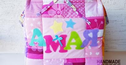 """Кош за играчки от плат """"Амая"""""""
