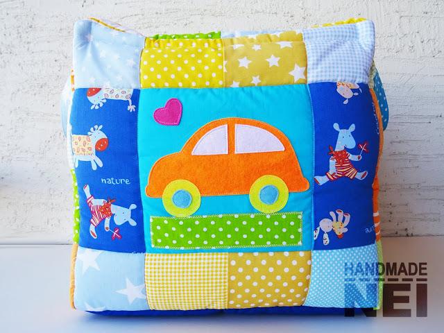 """Кош за играчки от плат """"Даниел""""2 - Handmade Nel"""