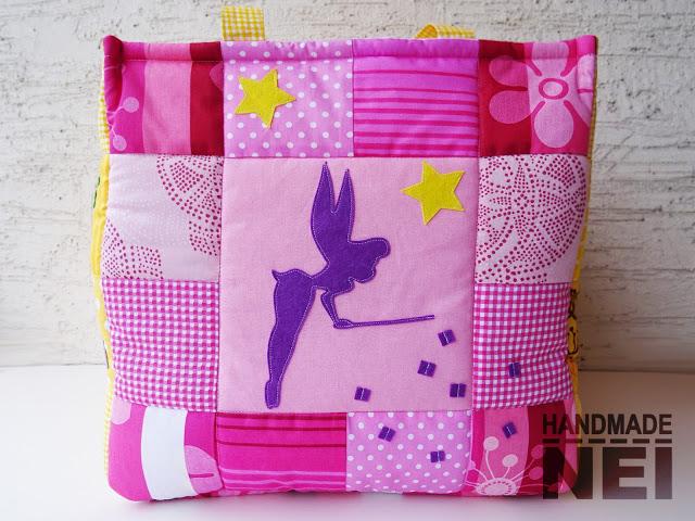 """Кош за играчки от плат """"Ива"""" - Handmade Nel"""