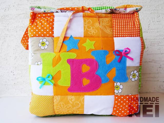 "Кош за играчки от плат ""Иви"" - Handmade Nel"