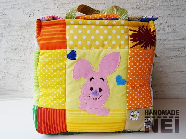 "Кош за играчки от плат ""Йоан"" - Handmade Nel"