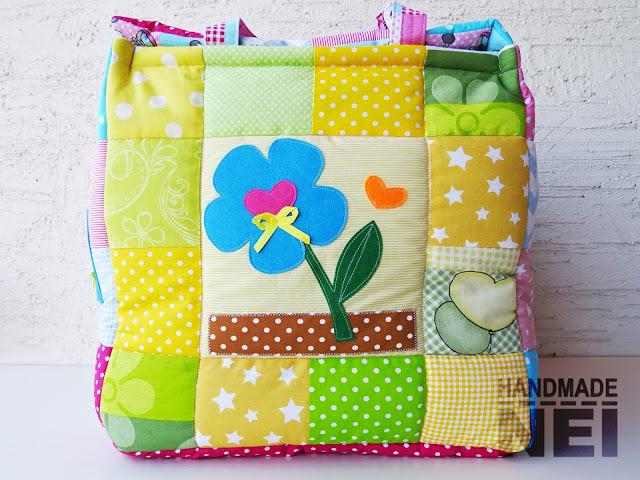 """Кош за играчки от плат """"Лианна"""" - Handmade Nel"""
