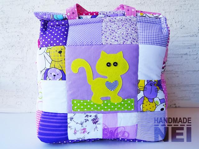 """Кош за играчки от плат """"Лили"""" - Handmade Nel"""