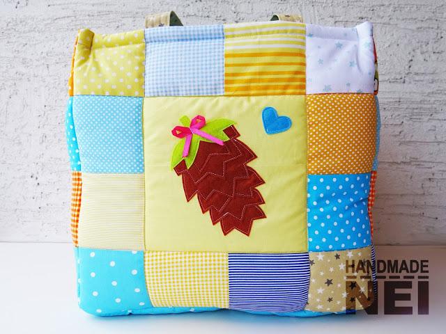 """Кош за играчки от плат """"Лора"""" - Handmade Nel"""