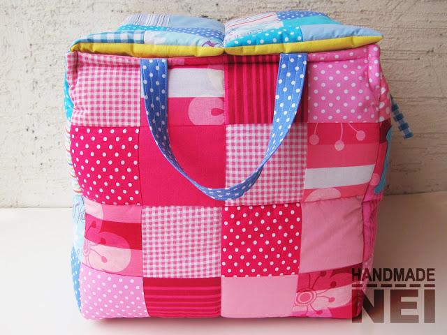 """Кош за играчки от плат """"Мими"""" - Handmade Nel"""