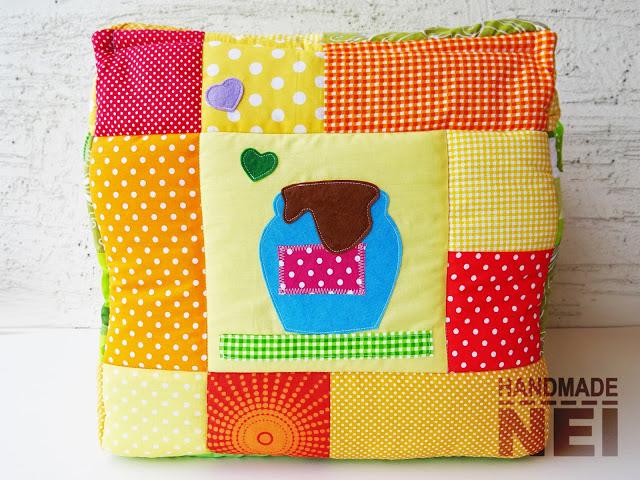 """Кош за играчки от плат """"Сиана"""" - Handmade Nel"""