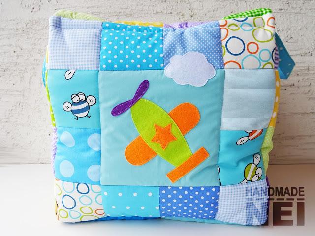 """Кош за играчки от плат """"Симеон"""" - Handmade Nel"""