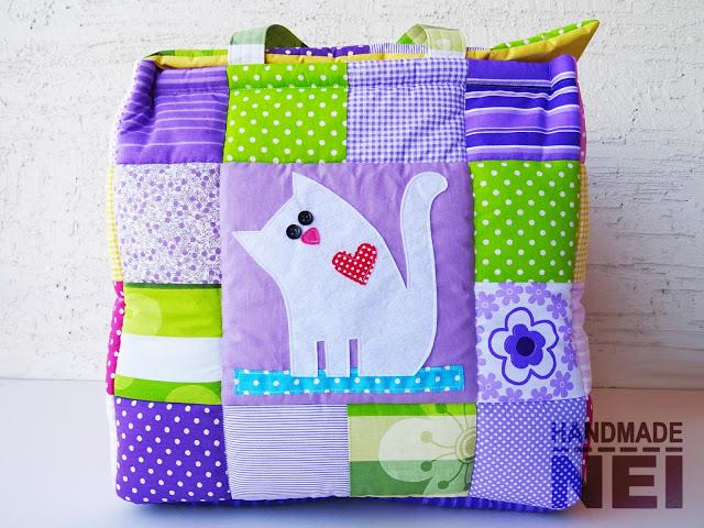 """Кош за играчки от плат """"Зайче"""" - Handmade Nel"""