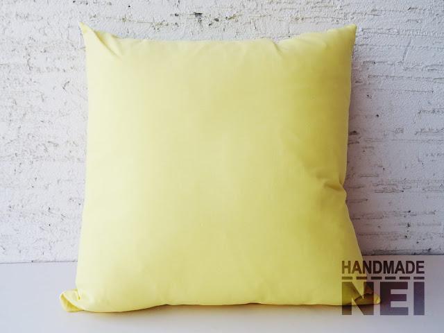 """Пачуърк калъфка за възглавница """"Слънчево""""2 - Handmade Nel"""