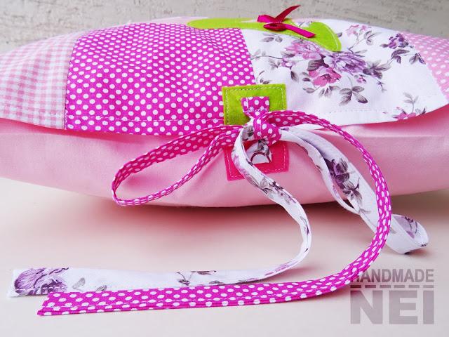 """Пачуърк калъфка за възглавница """"Ася"""" - Handmade Nel"""