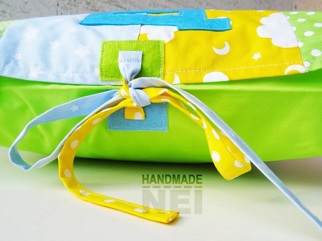 """Пачуърк калъфка за възглавница """"Даниел"""" - Handmade Nel"""