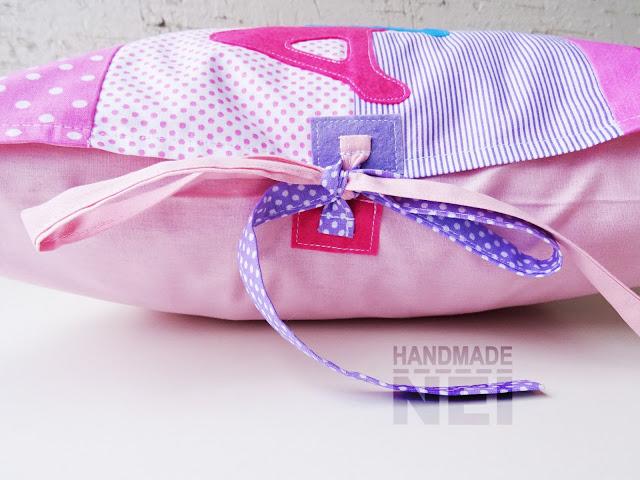 """Пачуърк калъфка за възглавница """"Дария"""" - Handmade Nel"""