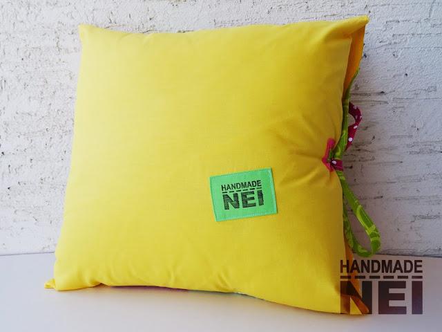 """Пачуърк калъфка за възглавница """"Деа"""" - Handmade Nel"""