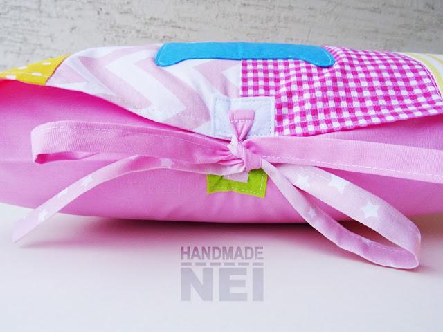 """Пачуърк калъфка за възглавница """"Ема"""" - Handmade Nel"""