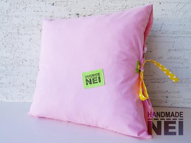 """Пачуърк калъфка за възглавница """"Ема""""2 - Handmade Nel"""