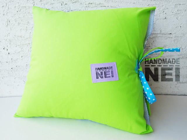 """Пачуърк калъфка за възглавница """"Ивайло"""" - Handmade Nel"""