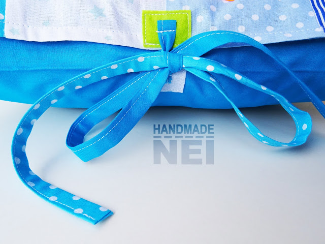 "Пачуърк калъфка за възглавница ""Живодар"" - Handmade Nel"