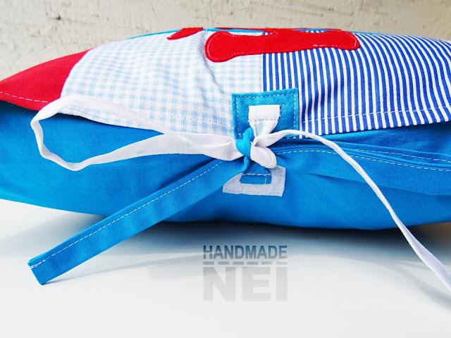 """Пачуърк калъфка за възглавница """"Йоан"""" - Handmade Nel"""