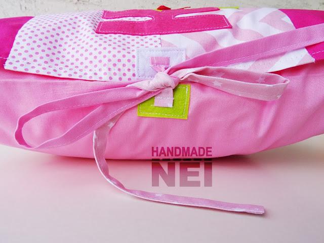 """Пачуърк калъфка за възглавница """"Калина"""" - Handmade Nel"""