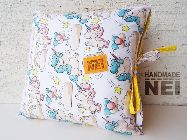 """Пачуърк калъфка за възглавница """"Карина"""" - Handmade Nel"""