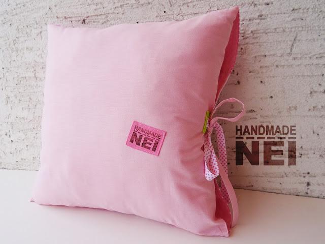 "Пачуърк калъфка за възглавница ""Леда"" - Handmade Nel"