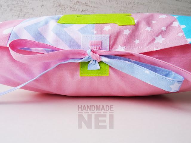"""Пачуърк калъфка за възглавница """"Лианна"""" - Handmade Nel"""