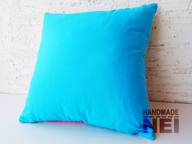 """Пачуърк калъфка за възглавница """"Мента"""" - Handmade Nel"""