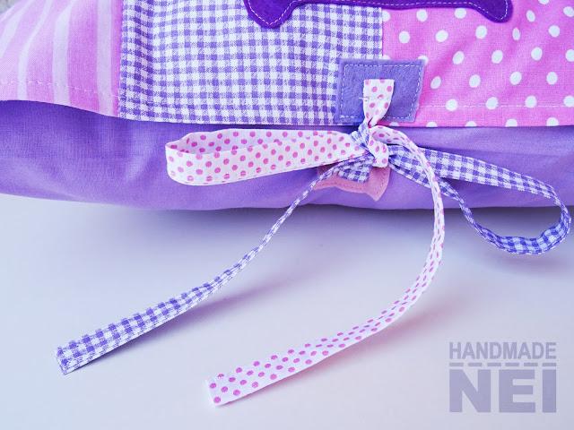 """Пачуърк калъфка за възглавница """"Миа"""" - Handmade Nel"""