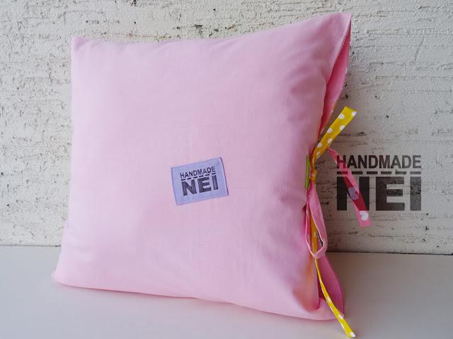 """Пачуърк калъфка за възглавница """"Михаела""""2 - Handmade Nel"""