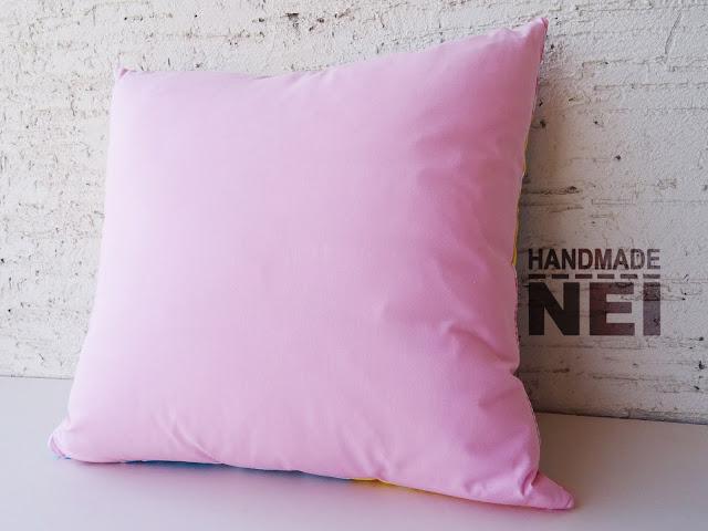 """Пачуърк калъфка за възглавница """"Нежност"""" - Handmade Nel"""