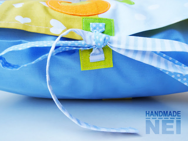 """Пачуърк калъфка за възглавница """"Самуил"""" - Handmade Nel"""