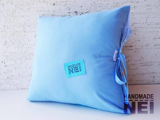 """Пачуърк калъфка за възглавница """"Звездички"""" - Handmade Nel"""